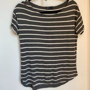 Relaxed Fit Stripe Tee Shirt